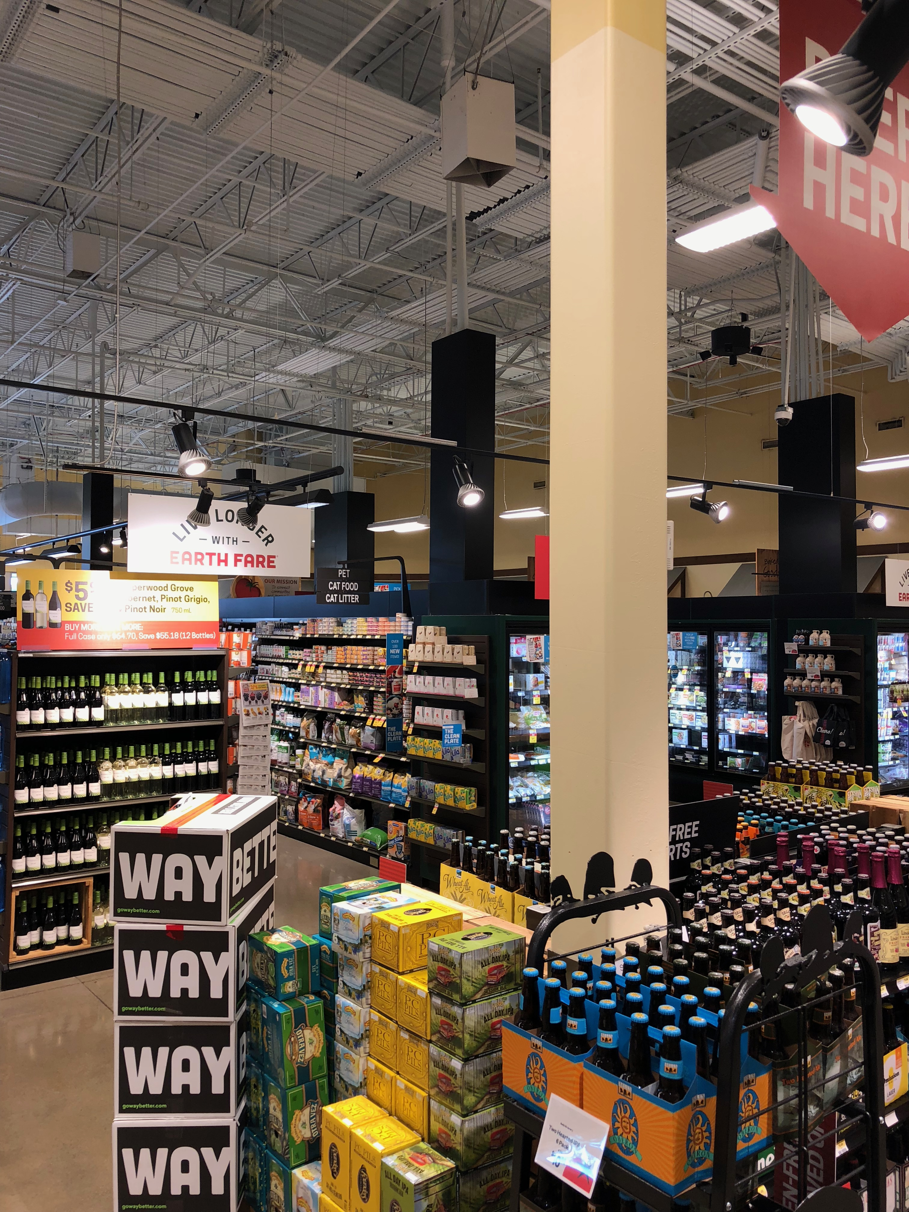 Supermarket Realizes Problems Solved, Energy Saved with Air-Row Destrat Fans